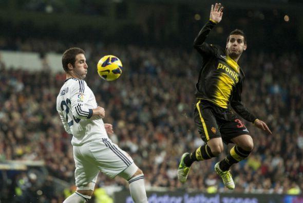 Aflojó el Real Madrid pero el Zaragoza careció de la pegada que sí tuvo...