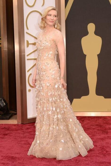 Gracias a sus elecciones, Cate Blanchet siempre una de las mejores vesti...