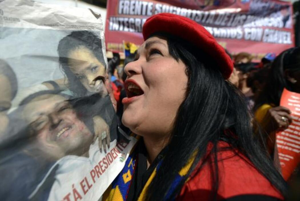 18 de febrero 2013 Chávez anunció que regresaba a Venezuela.