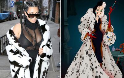 Kim y Cruella