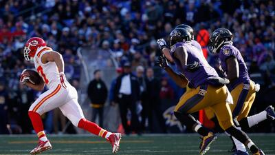 Chiefs 34-14 Ravens: KC capitalizó los errores de Baltimore (video)