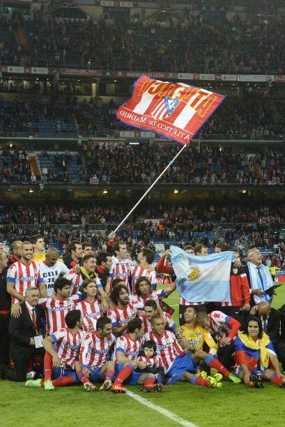 Con la victoria en Chamartín, el Atlético de Madrid termin...