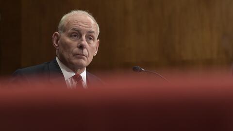 Secretario de Seguridad Nacional, John Kelly