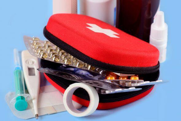 Un botiquín de primeros auxilios bien surtido puede ayudarte a re...