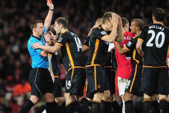 Wolverhampton sufrió una expulsión a 15 minutos del final.