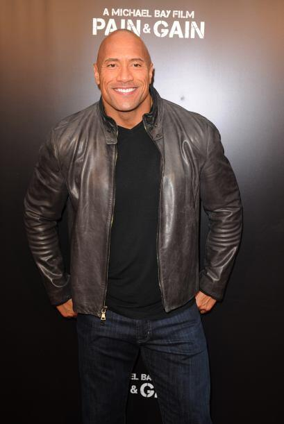 "Dwayne Johnson, ""The Rock"", hoy uno de los grandes del género en Hollywo..."