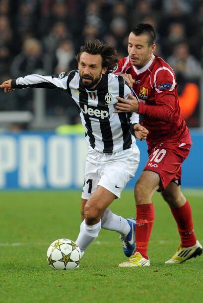 El volante de la Juventus fue el eje sobre el que surgía el juego...