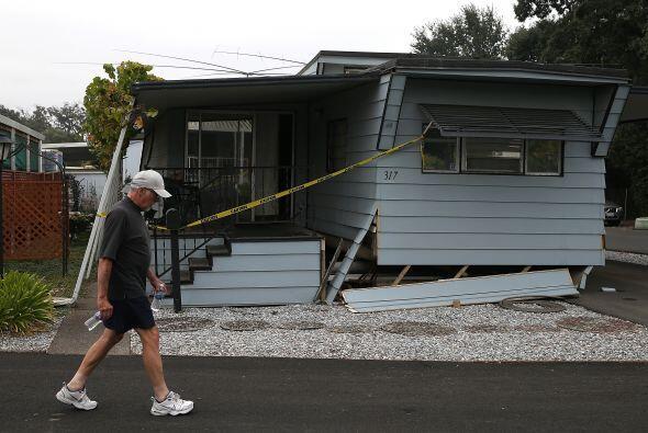 Y en total hay un centenar de casas que han sido declaradas inseguras en...