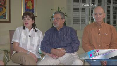 Abuelos del niño Lorenzo González Cacho