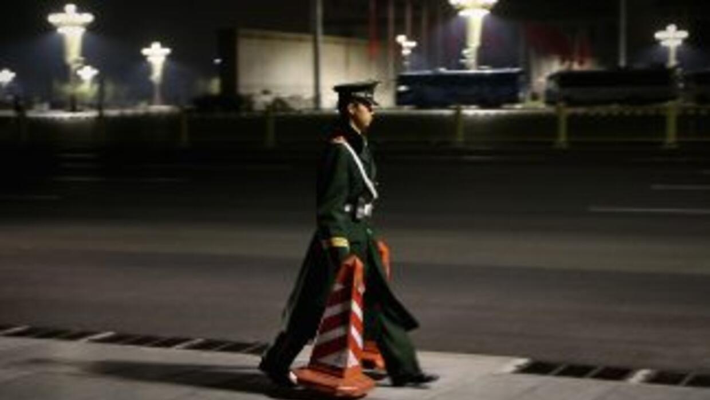 Cinco cadáveres de niños fueron hallados en Bijie, China, en un contened...