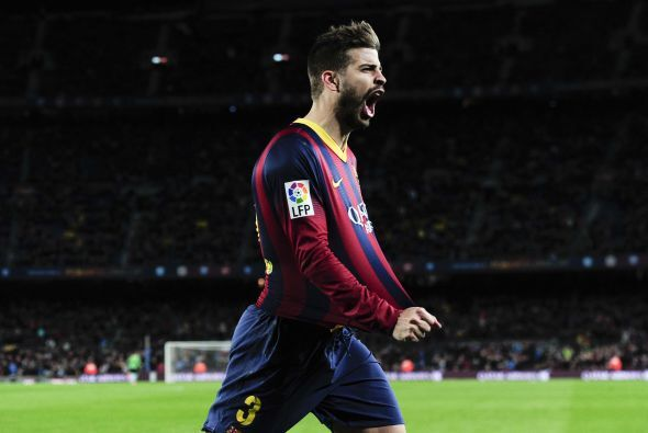 Muy, muy fácil saber lo que le gusta al defensa central del F.C. Barcelo...