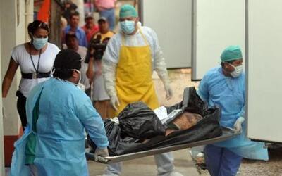 Al menos 29 personas fueron asesinadas, todas ellas decapitadas, en una...