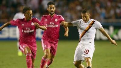 Totti marcó el único gol del encuentro.
