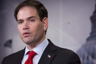 Marco Rubio, aspirante a la candidatura republicana a la Presidencia.