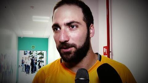 """Gonzalo Higuaín: """"Juventus tiene un gran equipo, espero darle alegrías a..."""