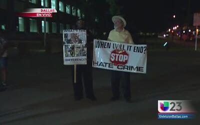 Protestan por brutalidad policiaca en Dallas