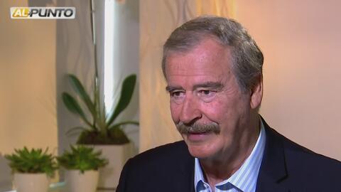 Vicente Fox critíca a Donald Trump