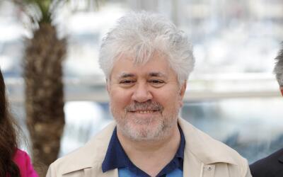 El director de cine español Pedro Almodóvar