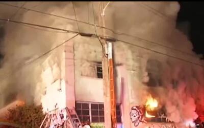 Aumenta a 36 el número de fallecidos por el incendio durante una fiesta...