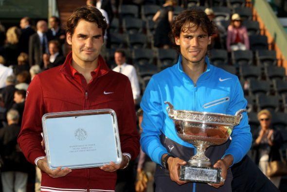 En la final del Roland Garros, Roger Federer fue derrotado por Rafael Na...