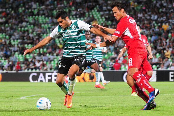 """El """"Chuletita"""" Orozco tiene la oportunidad de ser el goleador del Santos..."""