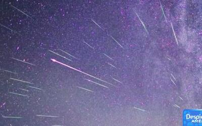 Lluvia de meteoritos podrá ser vista desde la Tierra
