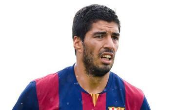 Suárez evitó responder si esa ausencia se debía a un castigo de la FIFA...