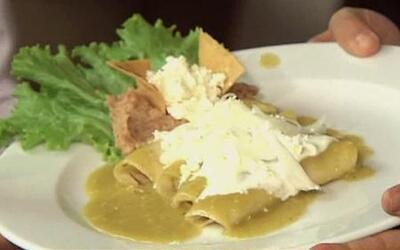 La receta original de las Enchiladas Verdes