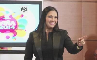 Ana Gabriel se defendió de unas preguntas de la prensa