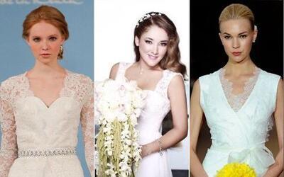 La actriz dio el, ¡Sí, acepto! y usó un vestido que proyectó toda su fem...