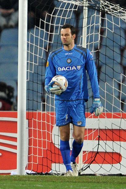 El portero esloveno fue un jugador clave para que el Udinese se ganara u...