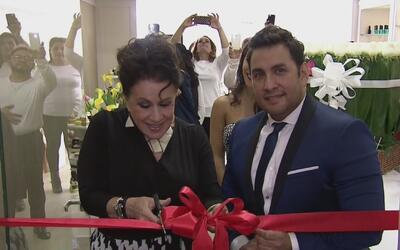 Laura Zapata inauguró un centro de belleza y confesó que ya está lista p...