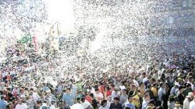 La celebracion mas grande del mundo