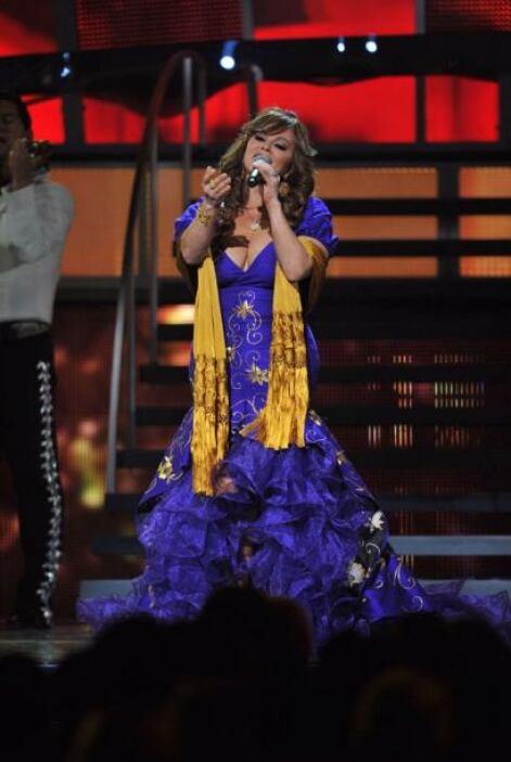 Otro momento inolvidable de 'La Diva de la Banda' fue en 2010.