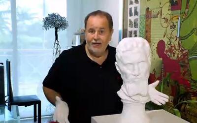 """Sin palabras te dejará lo que Raúl le hizo a esta """"cabeza"""" de arte"""