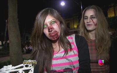 La Ciudad de México fue invadida por zombies del fin del mundo