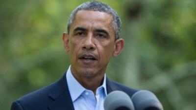 """Obamainstó a todos en Ferguson y en todo el país a recordar """"a este jov..."""