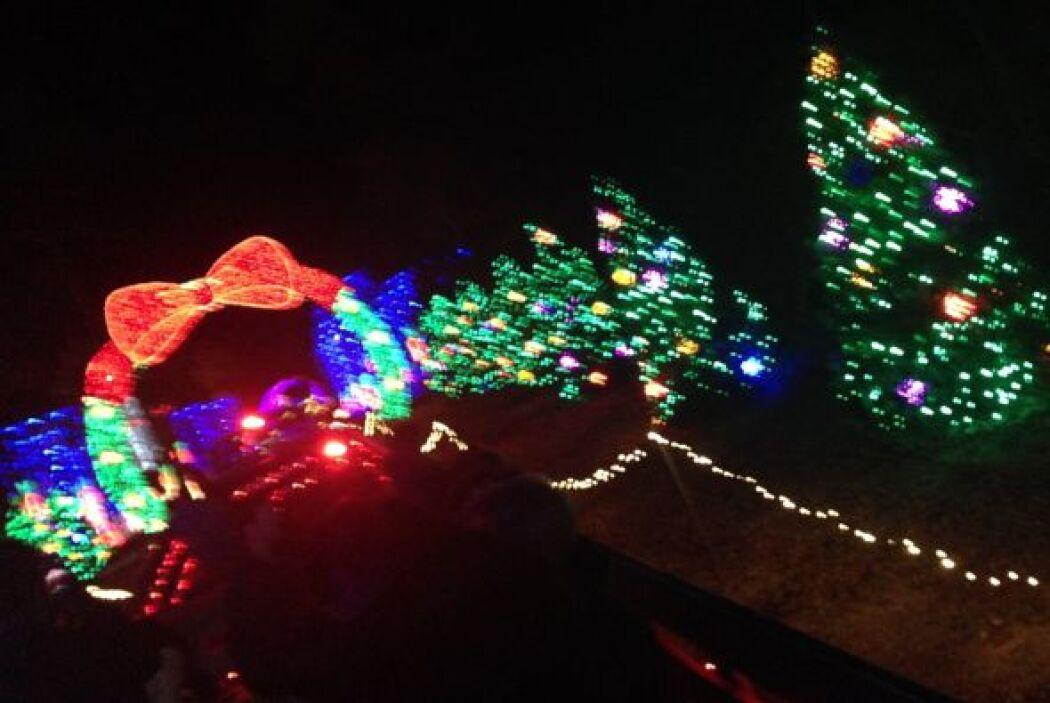 ¡Cuántas luces!