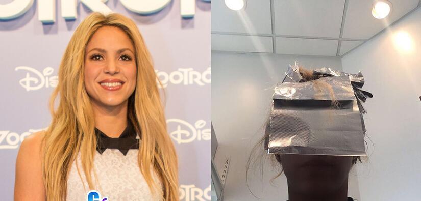 Shakira se está cambiando el pelo, ¿seguirá rubia?
