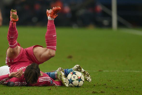 El juego fue ríspido por momentos pero unicamente Toni Kroos resu...