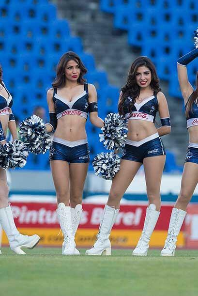 Vota por las porristas del Monterrey vs. Cruz Azul que embellecieron la...