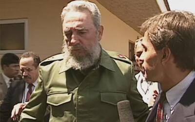 Jorge Ramos recuerda su escabroso encuentro con Fidel Castro