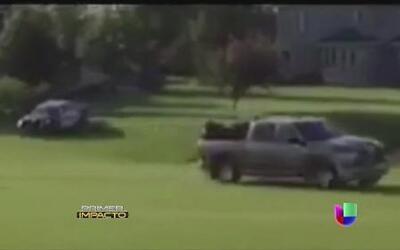 Persecución de película termina en campo de golf en Minnesota