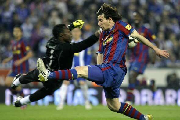 El Barcelona también tuvo buenas oportunidades, pero el gol no llegó.