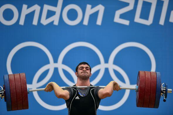 Saeid Mohammadpourkarkaragh,es un halterófilo iraní,...