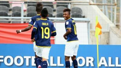 Ecuador celebra su pase a octavos en el Mundial Sub17