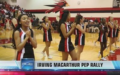 Irving MacArthur Pep Rally