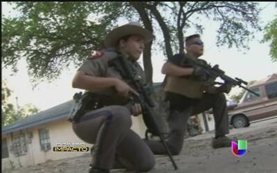 Impactante tiroteo entre la Patrulla Fronteriza y un delincuente