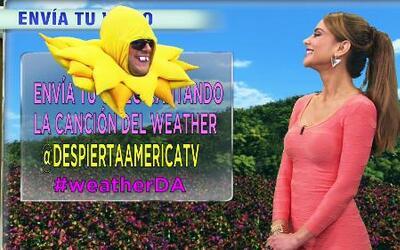 Ximena Córdoba te da el reporte del tiempo en Despierta América