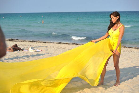 De acuerdo con la actriz, el hecho de salir a la playa no significa que...